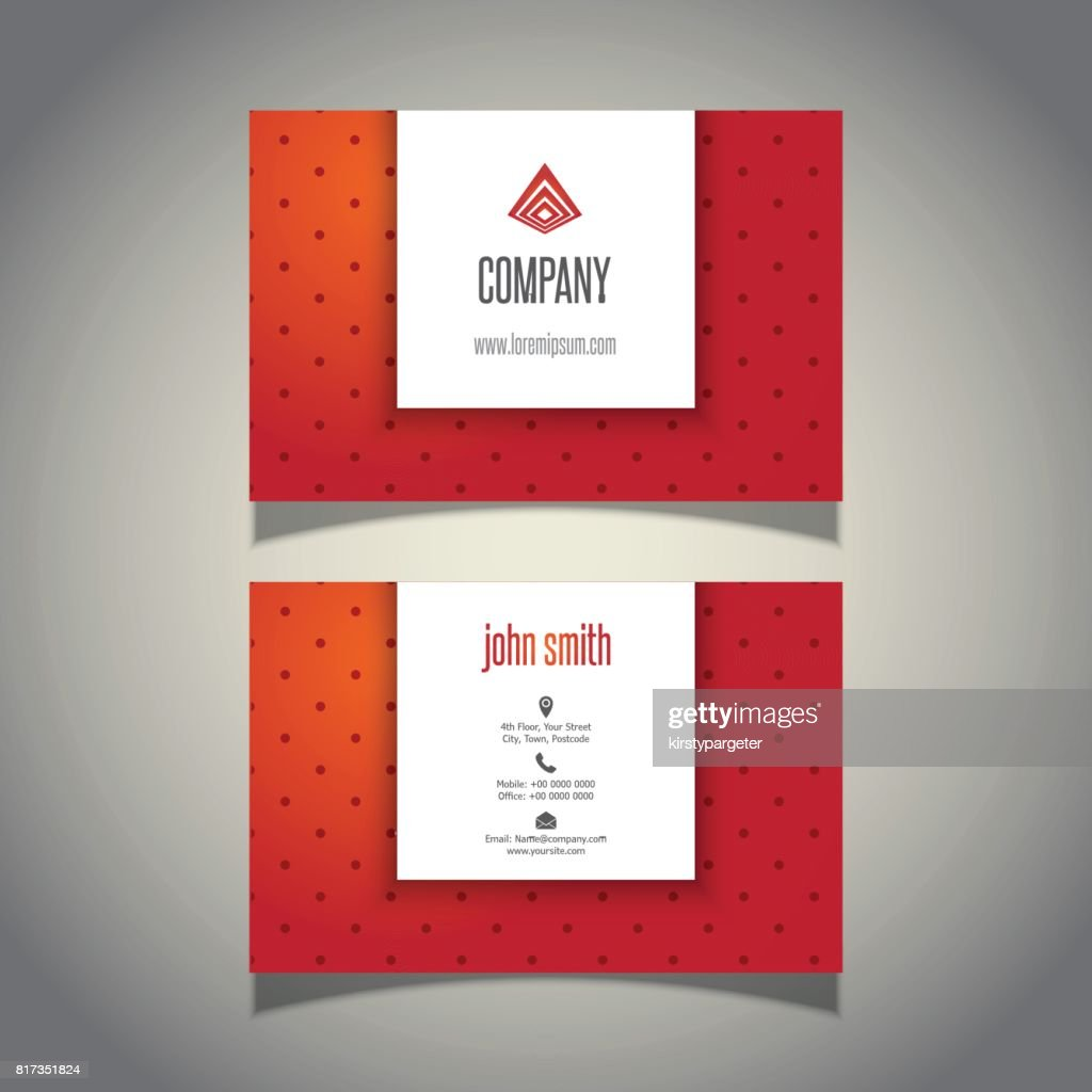 Generous Polka Dot Business Cards Pictures Inspiration - Business ...