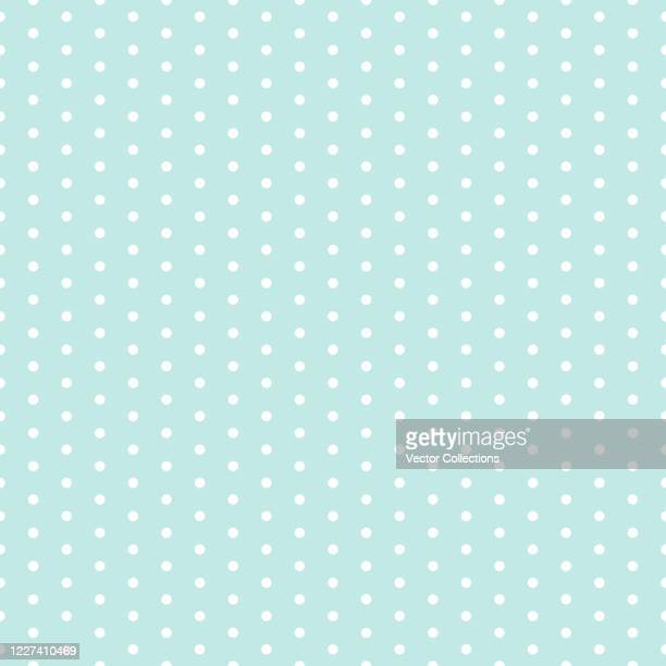 ilustrações de stock, clip art, desenhos animados e ícones de polka dot seamless pattern - bolinha