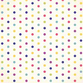 Polka dot vector design