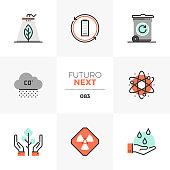 Pollution Problem Futuro Next Icons