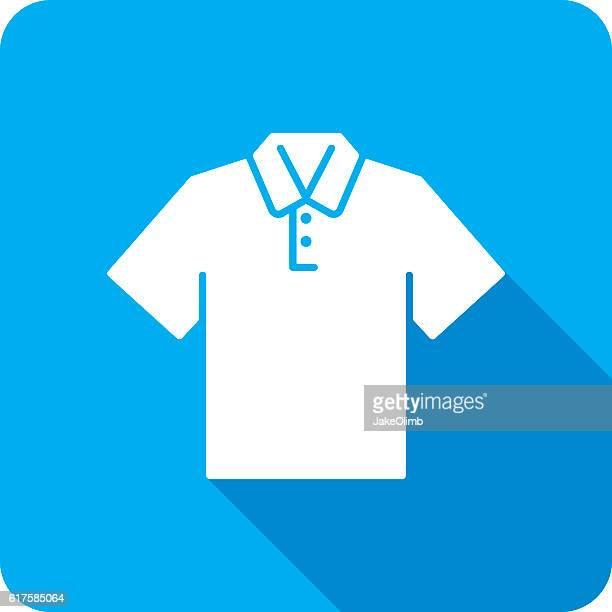 Polo Shirt Icon Silhouette