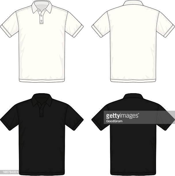 illustrazioni stock, clip art, cartoni animati e icone di tendenza di maglietta polo - maglietta polo