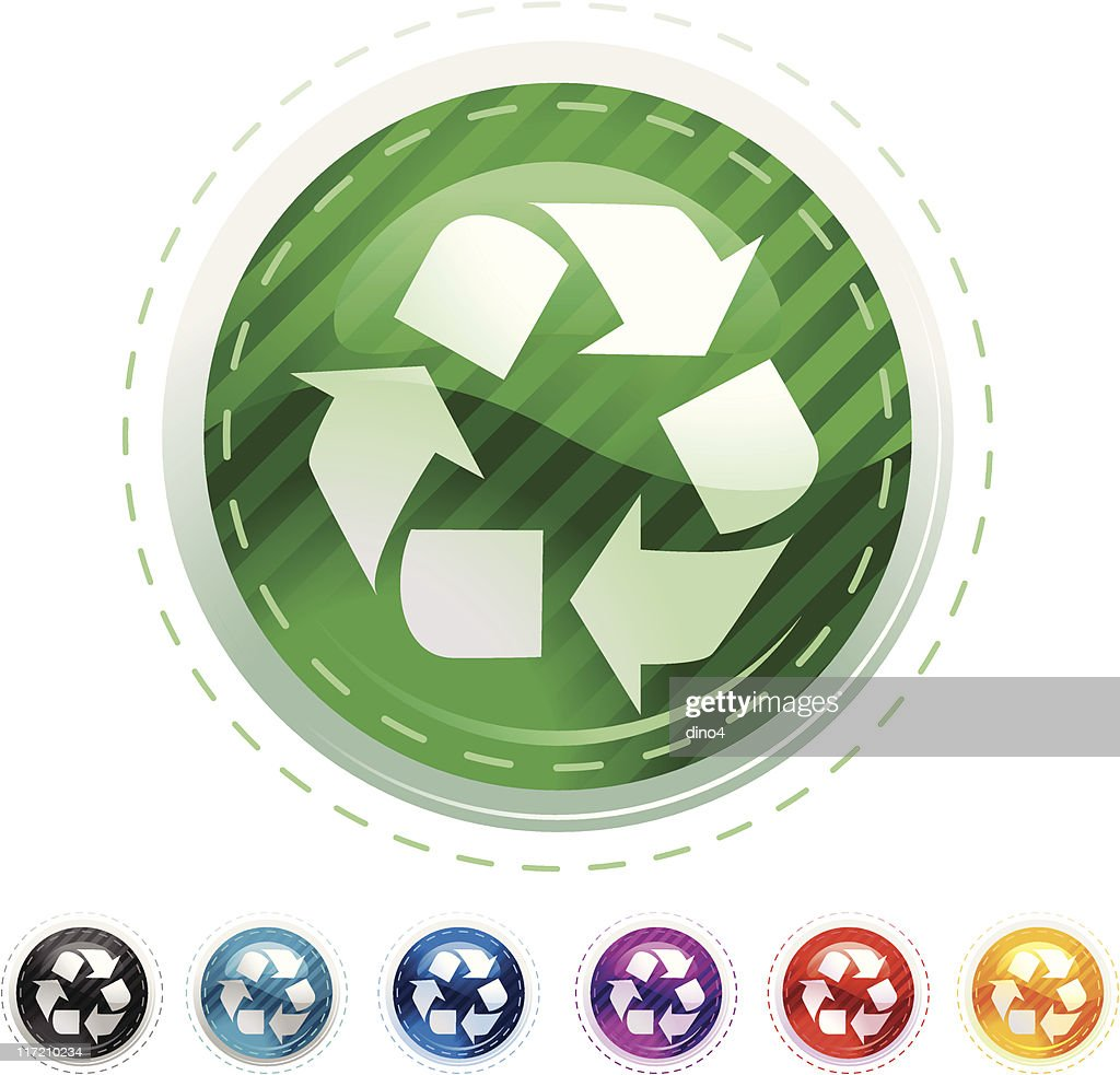 Polycon Series Recycle Stock Illustration - Getty Images