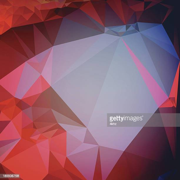 polygon abstract stock vector background graphic art - sharp stock illustrations, clip art, cartoons, & icons