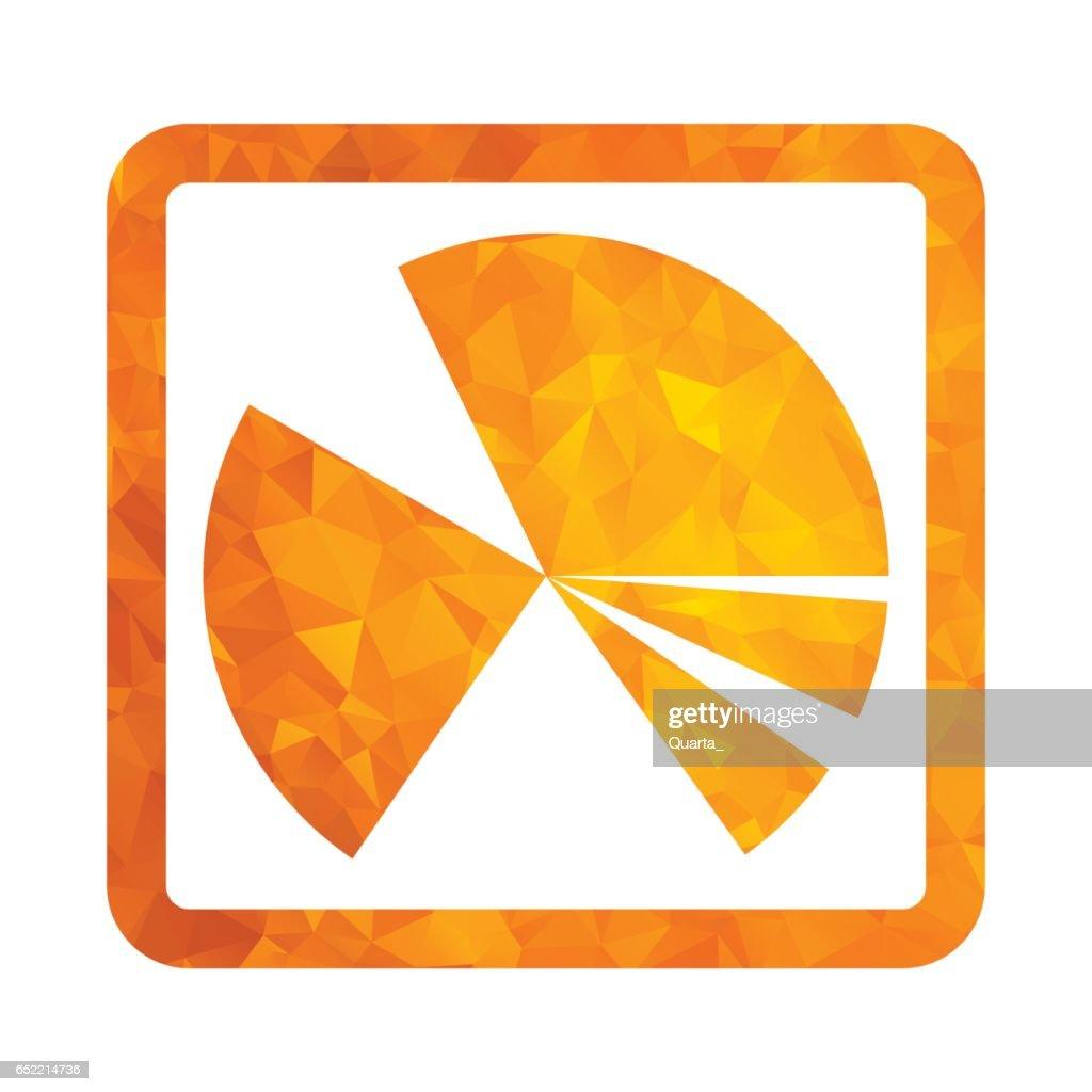 polygon golden icon chart