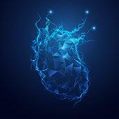polygon heart