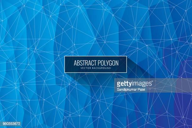 polygonal abstract background - trapezoid stock illustrations