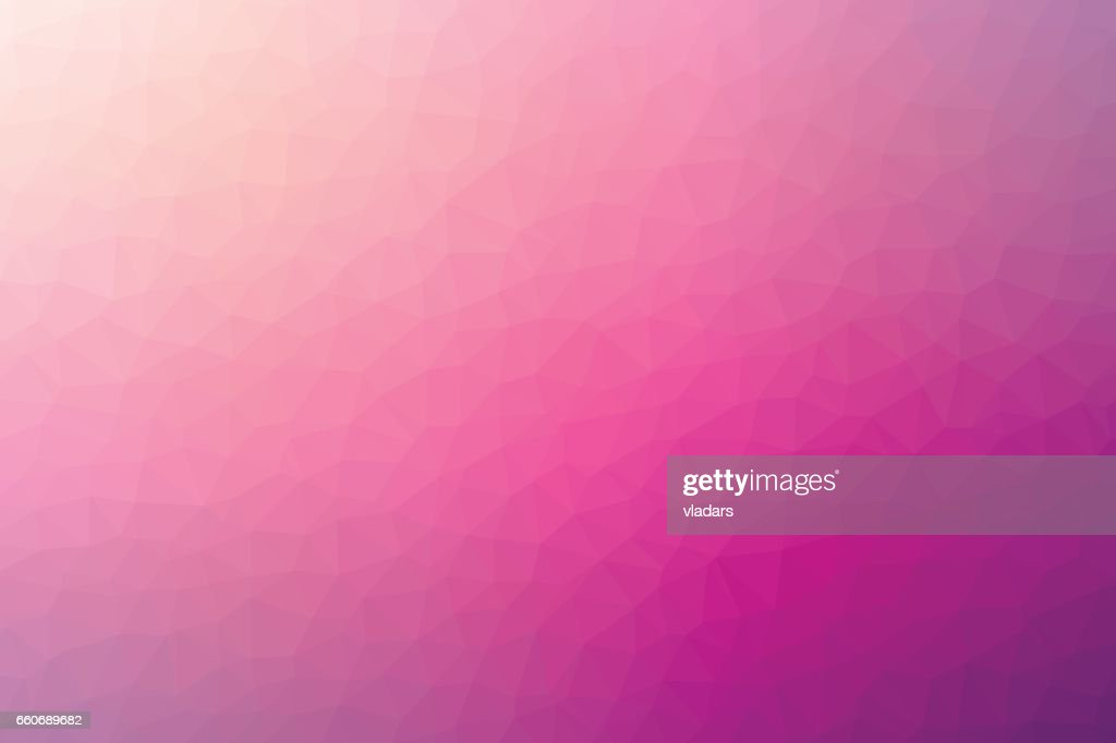 Polygonal abstract geometric violet and light pink triangular low poly style gradient background illustration