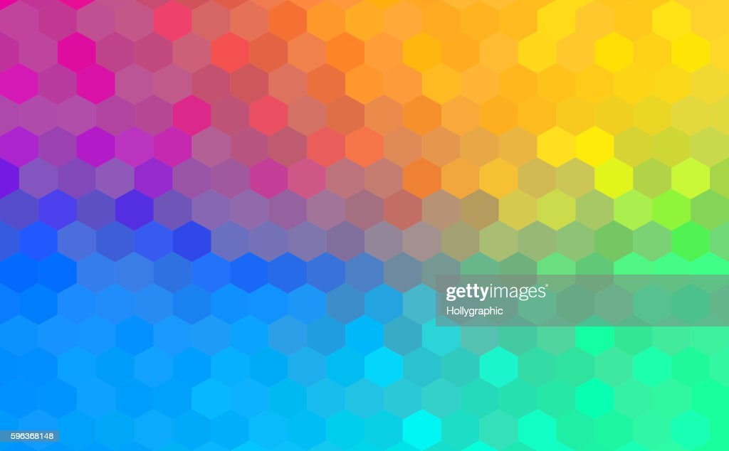Polygonal Background for webdesign - Blue, purple, pink colors