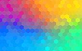 Polygonal Background for webdesign - Blue, purple, pink colors