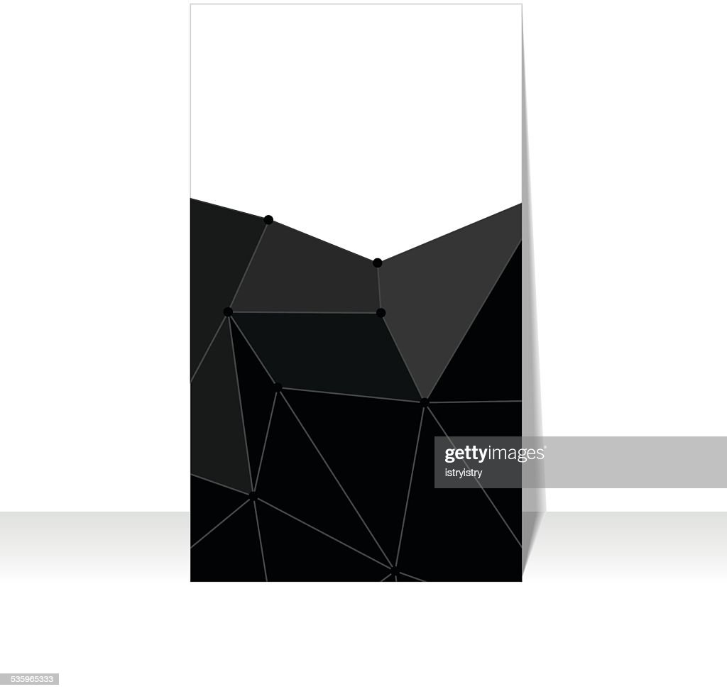 Polygonal background : Vector Art
