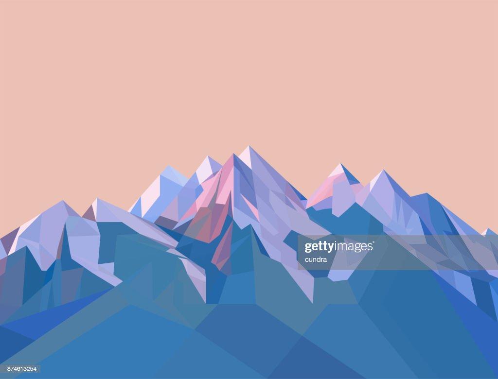 Polygonal Mountains