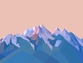 Polygonal Mountains