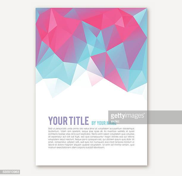 Polygonal Print Design