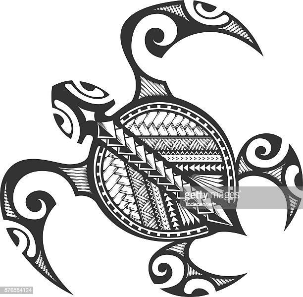 Polynesian Tribal Turtle