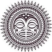 Polynesian Vector Mask