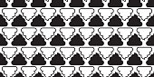 Poo seamless pattern vector toilet icon scarf isolated dog tile background repeat wallpaper Cartoon illustration doodle