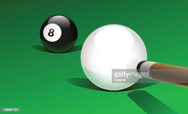 pool game - pool ball stock illustrations, clip art, cartoons, & icons