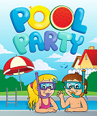 Pool party theme image 3
