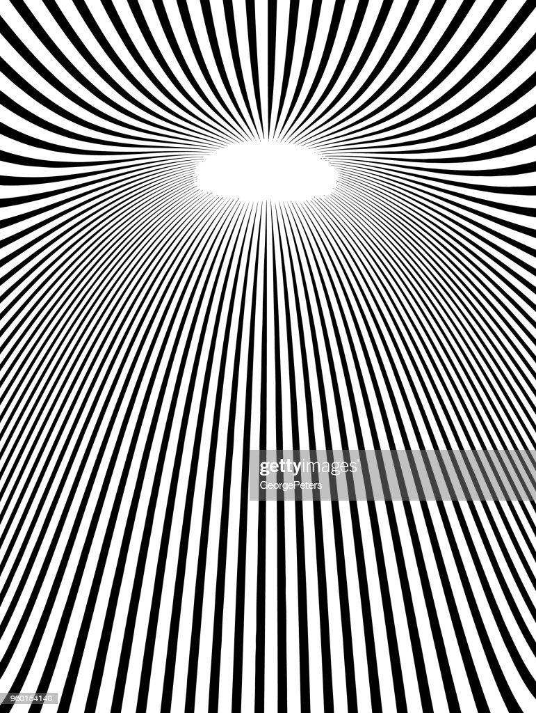 Pop-Art-Hintergrund mit Lichteffekt : Stock-Illustration