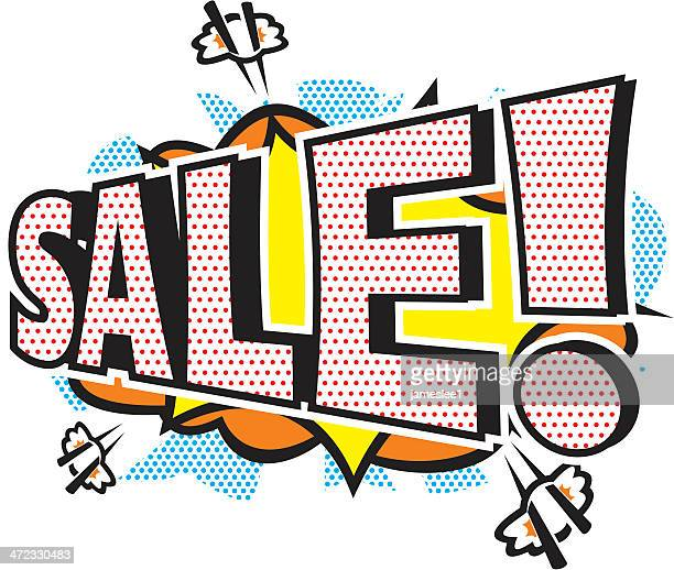 Pop Art Sale Icon