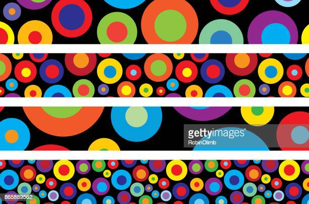 Pop Art Spots Banners