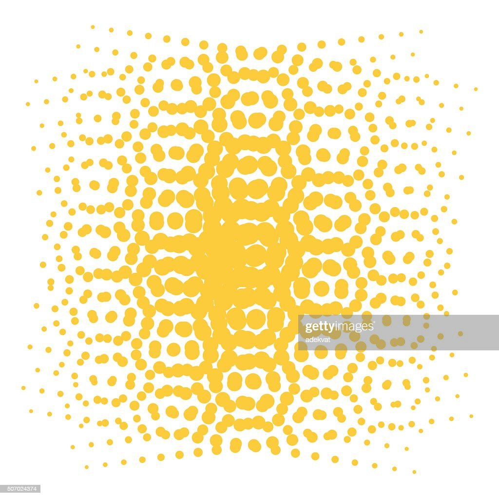 Pop Art style vector dots or background element