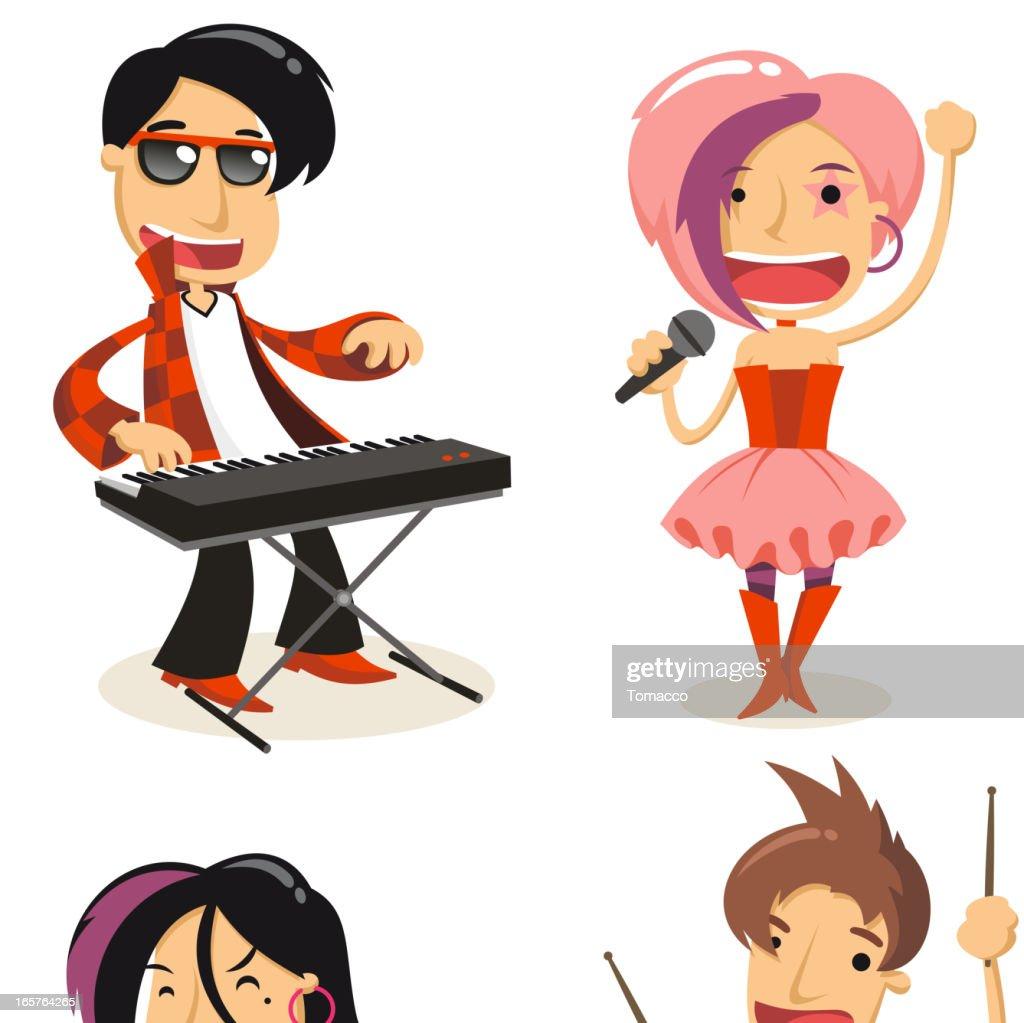 Pop Band set