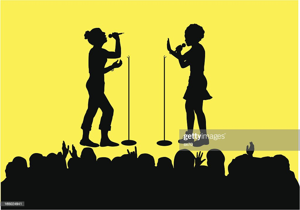 Pop Music Teeny Boppers ( Vector )