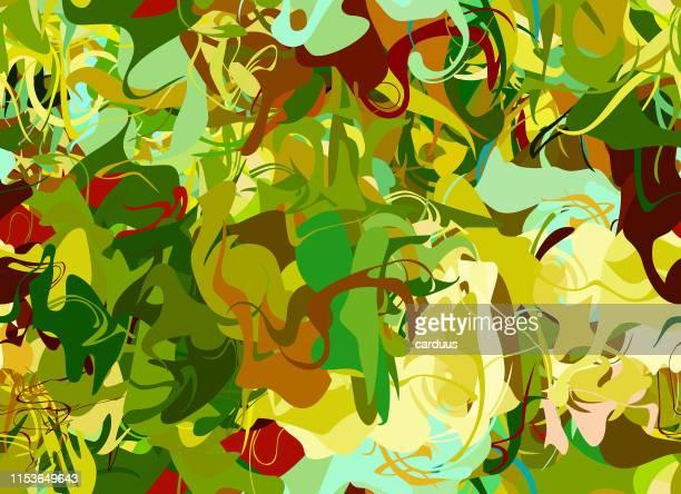 pop-art  seamless  multi-color pattern - natural pattern stock illustrations
