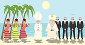 Pope and Patriarch of Moscow meeting at Cuba