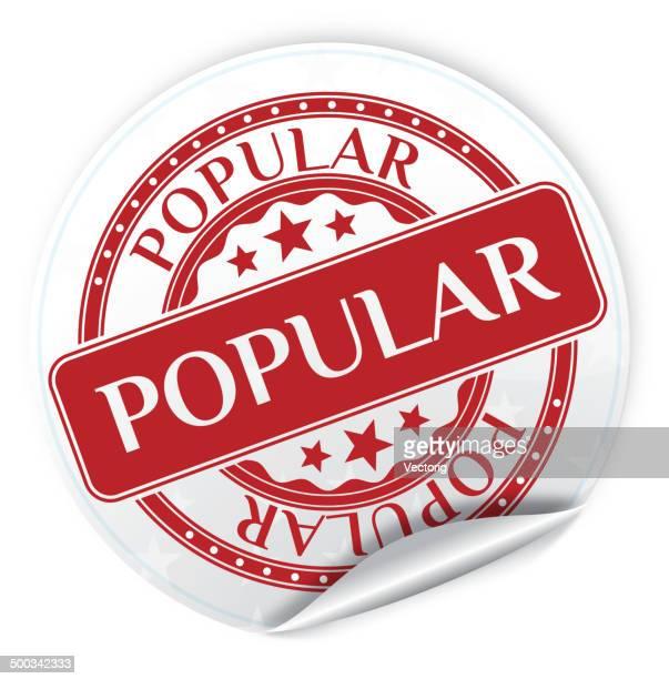 popular sticker - adulation stock illustrations, clip art, cartoons, & icons