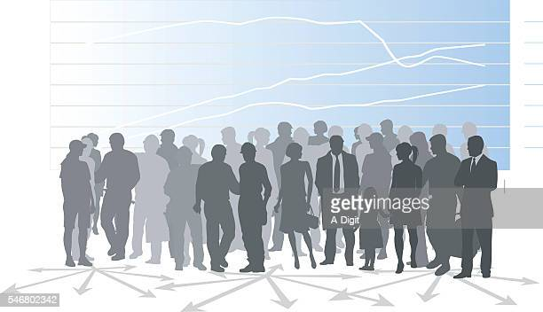 population demographic - population explosion stock illustrations