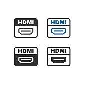 HDMI port icon