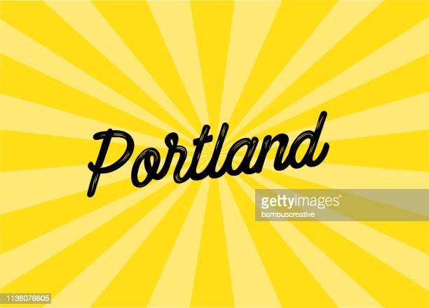 Portland Lettering Design