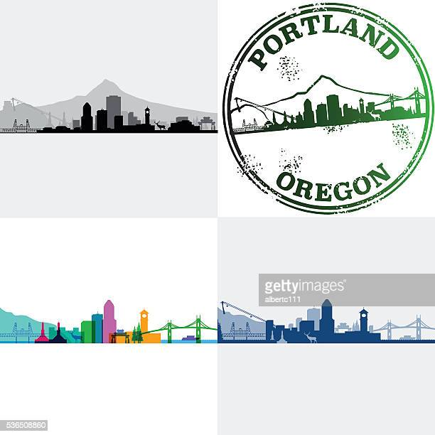 Portland Oregon Cityscapes