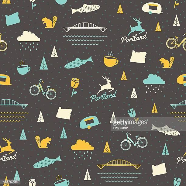 Portland Seamless Pattern