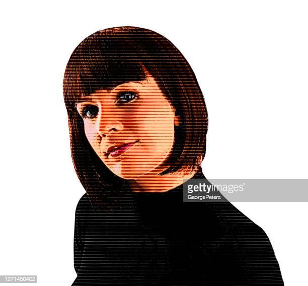 ilustrações, clipart, desenhos animados e ícones de retrato de uma jovem empresária - 25 30 anos