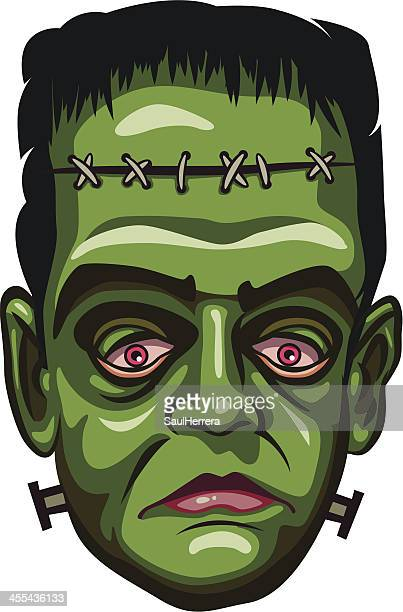 ilustrações de stock, clip art, desenhos animados e ícones de frankenstein monstro - frankenstein