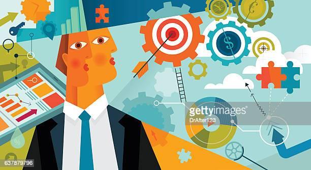 Portrait Of Successful Businessman Horizontal