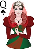 Portrait of the Queen of Spades