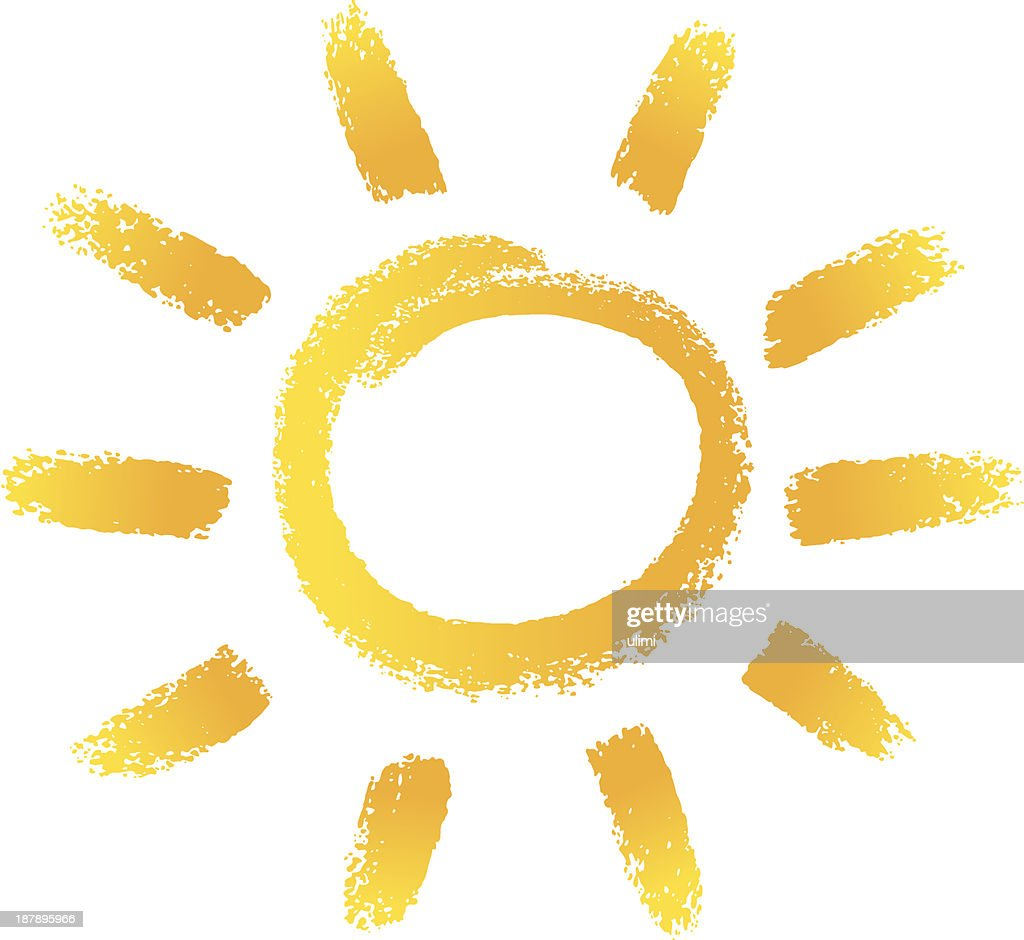 a portrait of the sun on a white background vector art getty images rh gettyimages com Chalk Clip Art Coffee Chalk Vector Free Download