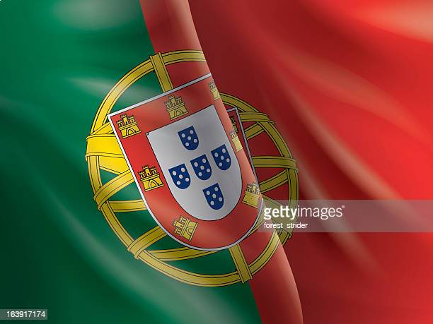 Portugal flag background