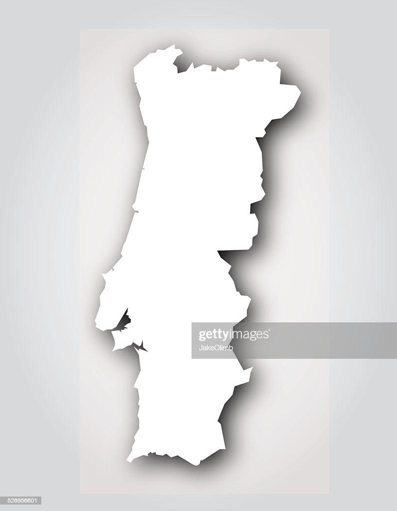 Portugal Silhouette White