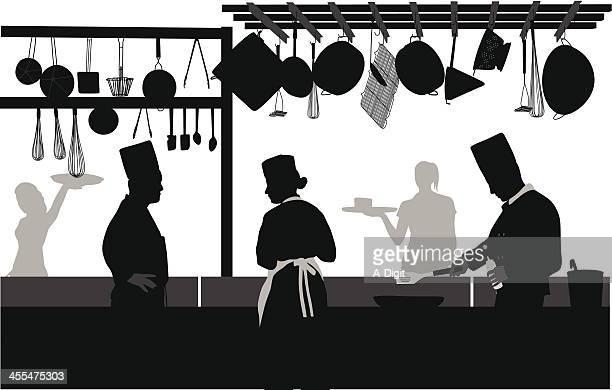 ilustrações, clipart, desenhos animados e ícones de positionsavailable - chef de cozinha