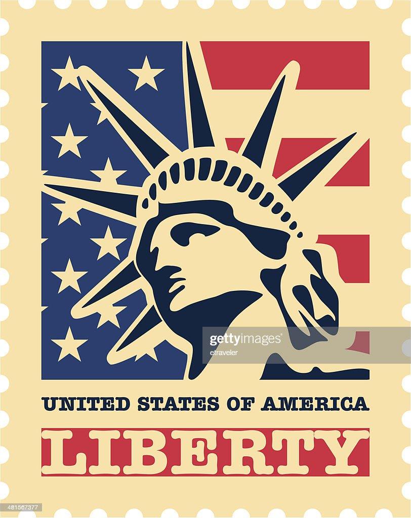 USA postage stamp.