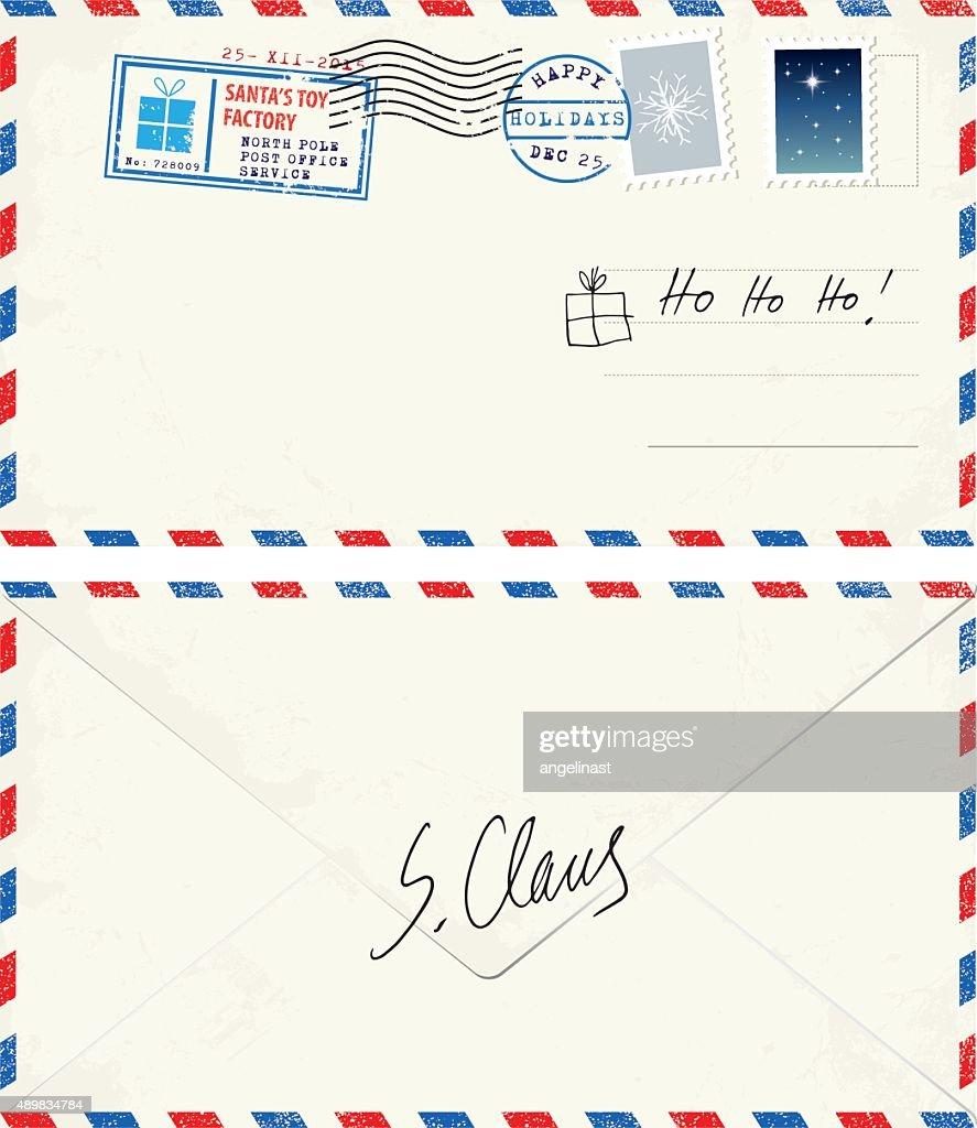 Postcard lettero from Santa