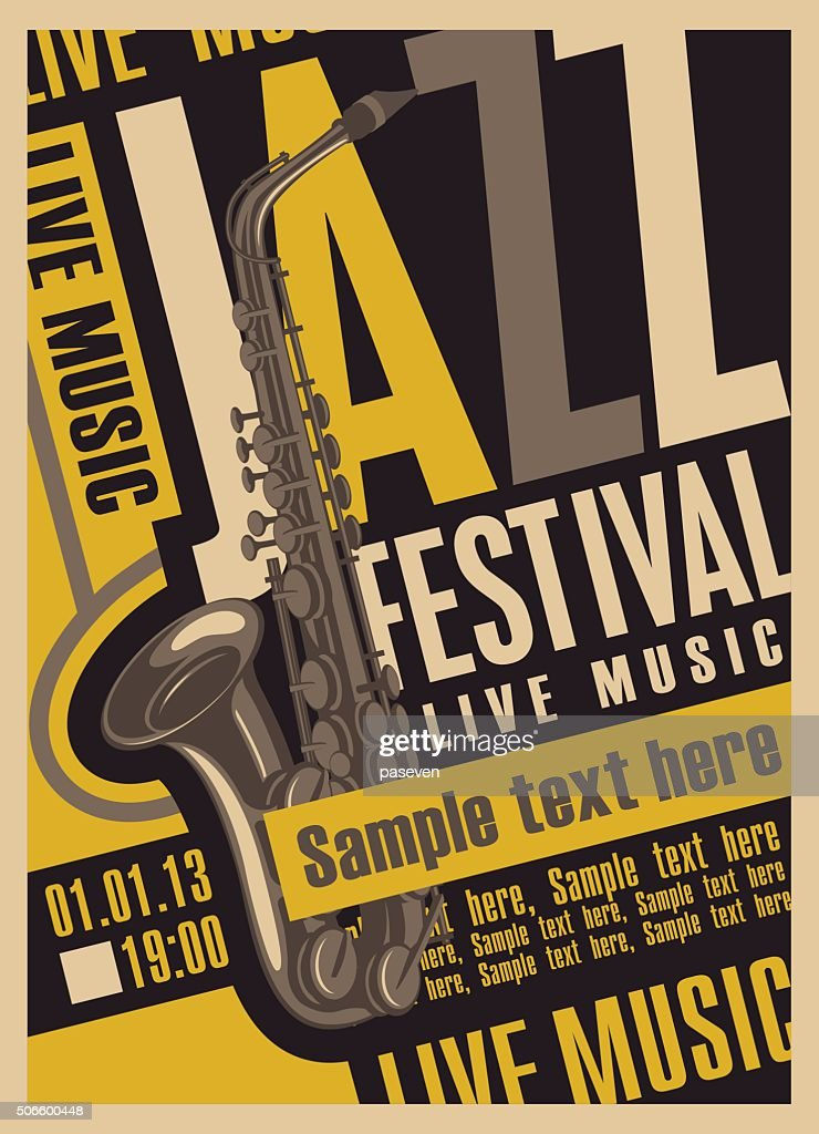poster for the jazz festival