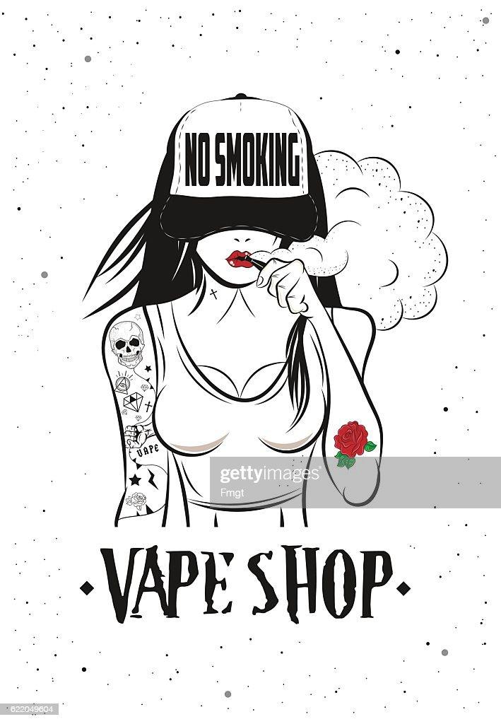 Poster For Vape Shop