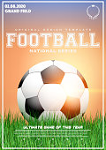 Poster Template of Football Tournament